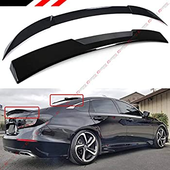 Factory Style Lip Spoiler for the Honda Accord Sedan 2018-2019 Spoiler Painted in the Factory Paint Code of Your Choice 577 B533P with 3M tape included