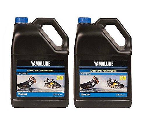 (Yamaha Yamalube 2W 2-Stroke Waverunner Performance Oil - 2 Gallons of)