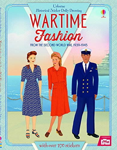 Historical Sticker Dolly Dressing Wartime Fashion (1939-1945)
