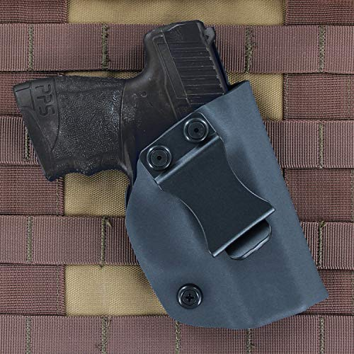 Matte Black - Kydex Concealment IWB Holster (Right-Hand, Walther CCP)