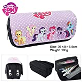 Lcrystal for My Little Pony Stationary Pencil Holder Bag, Packing Organizer, Cosmetic Bag, Animation Purse