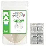 NPK Industries Raw Grow Soluble Fertilizer + Twin Canaries Chart - 10 Pounds
