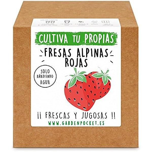 Garden Pocket - Kit Cultivo Fresas Rojas: Amazon.es: Jardín