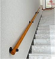 AIDELAI Pasamanos Antideslizantes para escaleras de Madera, contra ...