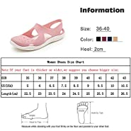 Bigidols Summer Women Sandals Soft Flat Slip On Casual Jelly Shoes Sandals Hollow Out Mesh Flats Footwear New,Wine Red,7.5