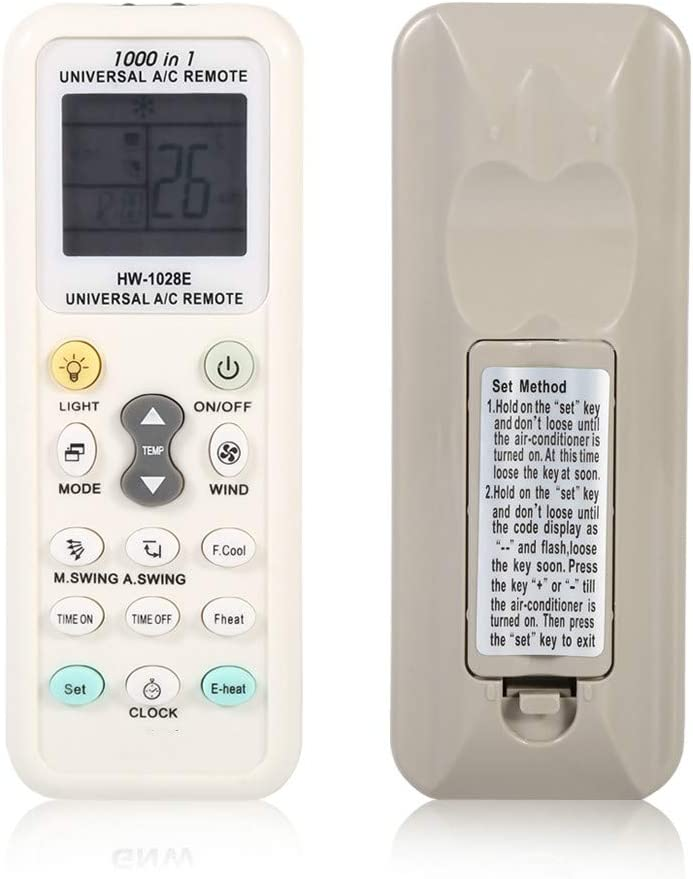 CK Global Compatible Remote Control for Air Conditioner, Zenith GE -6711A20035J 6711A20035A