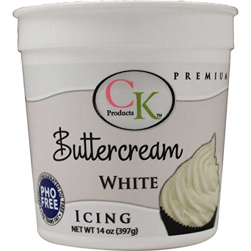 CK Products PHO Free Buttercream Icing, 14 oz (Buttercream Icing Butter)