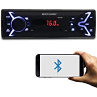 Multilaser Mp3 Player Automotivo Media Receiver Bluetooth 4X25W Bt/Usb/Sd/Aux, , P3336, Cd E Mp3 Player