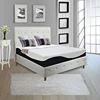 Continental Sleep Full 10 Mattress, Orthopedic Type Mattress, Quality Standard Memory Foam & Gel Memory Foam, Easily Removable & Washable Cover, Ultra Soft, Quality Mattress For Comfortable, Relaxing Nights