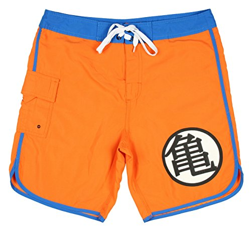 51wiB1ZbdkL amazon com dragon ball z kame symbol swim trunks clothing,Dragon Ball Z Swimwear
