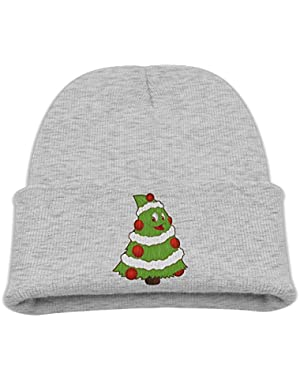 Funny Small Christmas Tree Infant Toddler Baby Soft Cute Lovely Newborn Kids Hat Beanies Caps For Baby Boys Girls
