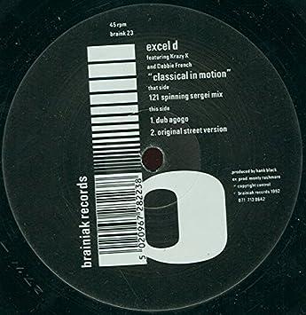 Excel D - Classical In Motion - Brainiak Records - Braink 23: Excel D: Amazon.es: Música