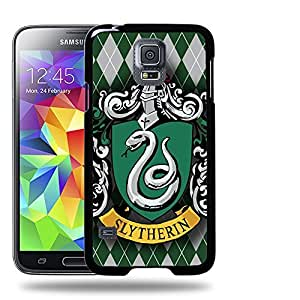 Case88 Designs Harry Potter & Hogwarts Collections Hogwarts Slytherin Sigil Protective Snap-on Hard Back Case Cover for Apple Samsung Galaxy S5 by Maris's Diary
