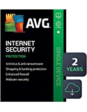 $29 » AVG Internet Security 2020 | Antivirus Protection Software | 1 PC, 2 Years [Download]