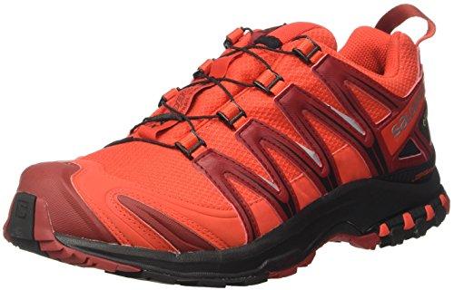 Gtx 3d Red red black Dalhia Homme Rouge fiery Trail Salomon Running Randonnée De Pro Xa Chaussures qEFtRtS
