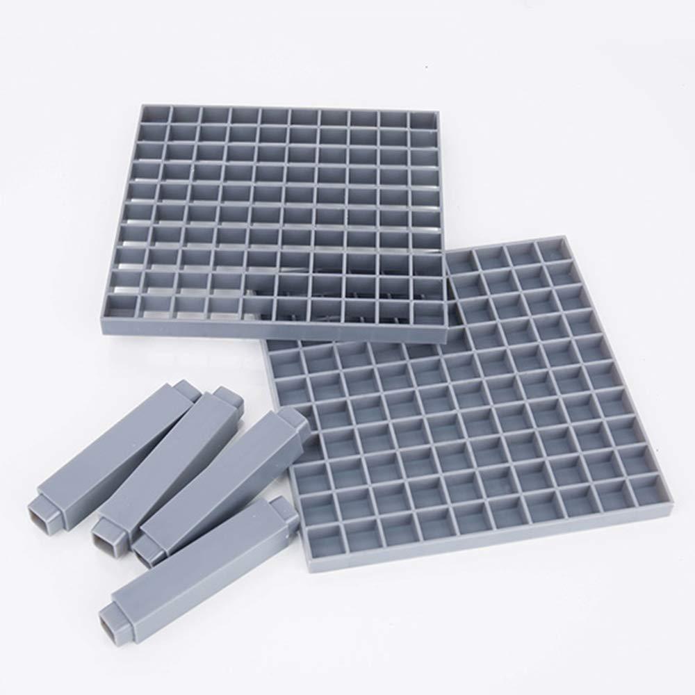 marcador de borrado en seco Pinacis Soporte de escritorio con 96 ranuras para marcador marcador de reparaci/ón resaltador de color