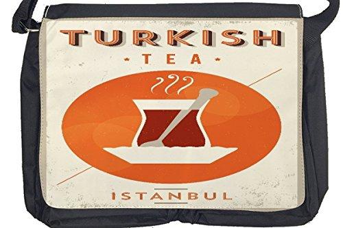 Borsa Tracolla Soda Soft Drink Tè turco Stampato