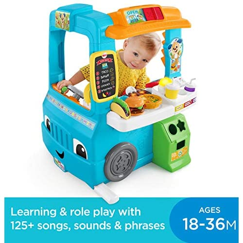 Fisher-Price Laugh & Learn Servin Up Fun Food Truck