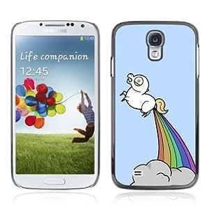 Designer Depo Hard Protection Case for Samsung Galaxy S4 / Unicorns & Rainbows