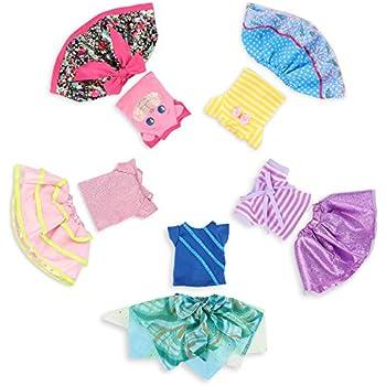 """Debs 5 LAVENDER 5 PINK =10 Star Doll Clothes Hangers For DE 13/"""" Little Darling"""