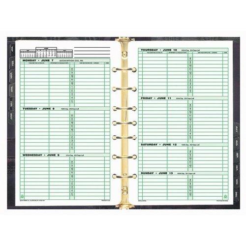 ACCO 91010 Original Filler Set, 2PPW, Desk Size, 5-1/2 x 8-1/2