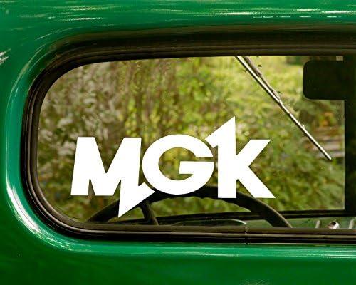 MGK Lace Up decal Sticker Machine Gun Kelly