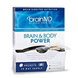 Cheap Dr Amen Brain MD Brain & Body Power – 300 Capsules – Complete Wellness Support Supplement, Contains NeuroVite Plus, Brain & Memory Power Boost & Omega-3 Power – 30 Day Supply