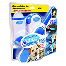 Original & Official Hurricane Fur Wizard Pet Fur & Lint Remover by Hurricane-Canadian Edition
