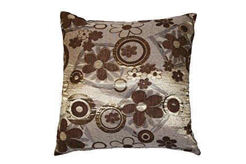 Victoria Chenille Jacquard daisy design 18