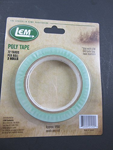 LEM Products W042 Extra Poly Tape (1 roll)