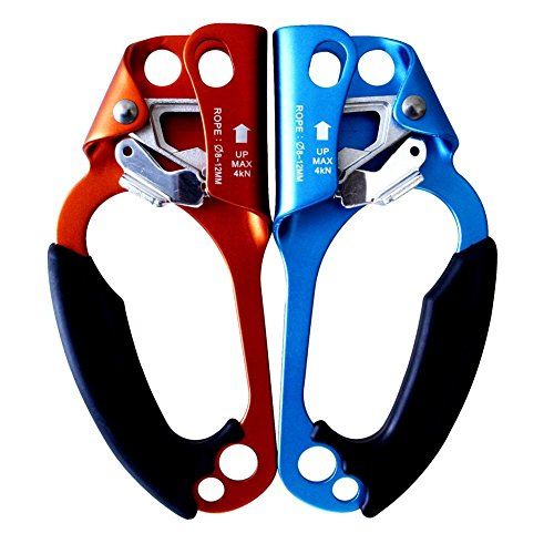 GM CLIMBING Hand Ascender for Rope Climbing Pack of 2 (Left and Right)