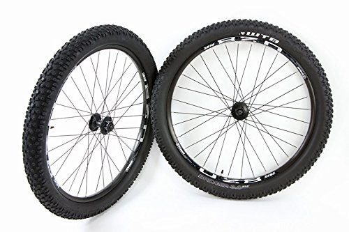 27.5 in / 650b ATB Disc Brake Wheel Set Weinmann U28 WTB Bridger 3.0 Tires and Tubes by Bridger
