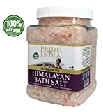 Best Only Natural Bath Salts - Pride Of India - Himalayan Pink Bathing Salt Review