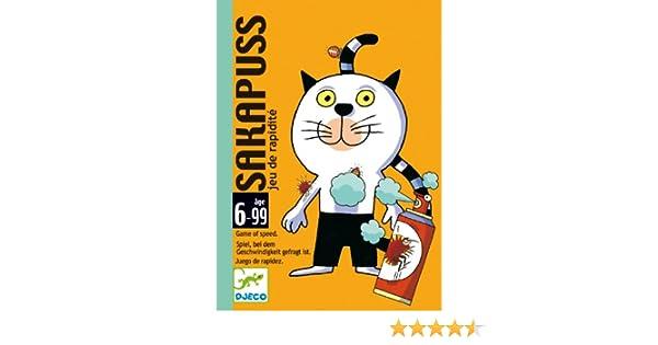 Djeco Card Game: Sakapuss