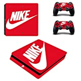MagicSkin Vinyl Skin Sticker Cover Decal for Playstation PS4 Slim S Console and Remote Controllers