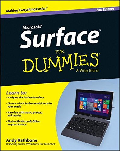 Surface For Dummies User Retail Pc