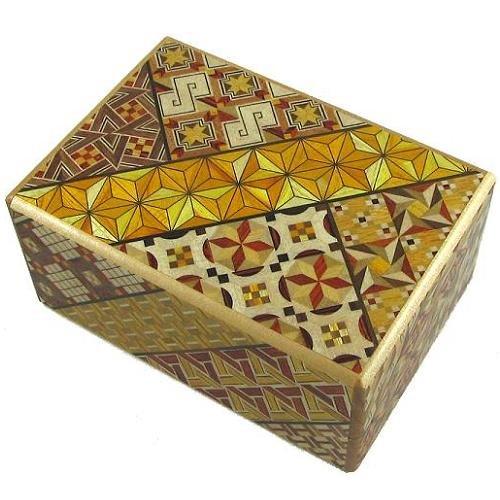 4 Sun 14 Steps Japanese Puzzle Box (Japanese Steps Puzzle Box)