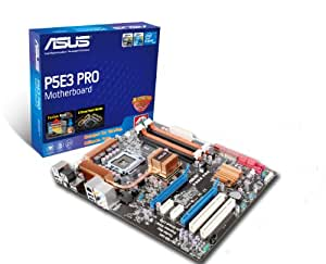ASUS P5E3 PRO - Placa base (8 GB, Intel, Socket T (LGA 775), PCIe Gigabit LAN, Marvell 88E8056, ATX)