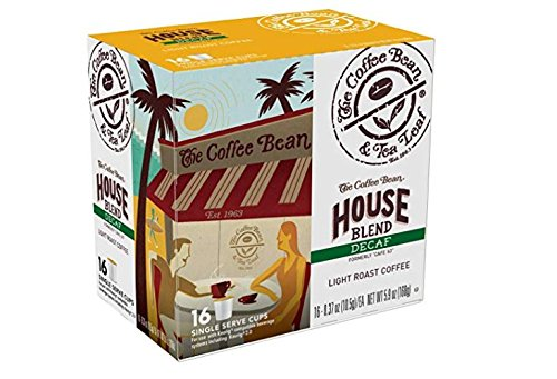 Coffee Bean & Tea Leaf Decaf House Blend Single Serve Kcups (16 Ct)