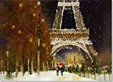 Midnight in Paris Deluxe Boxed Holiday Cards (Christmas Cards, Greeting Cards)