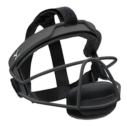 Mizuno Wire Fastpitch Softball Fielder's Mask S/M, Size No Size, Black (9090)