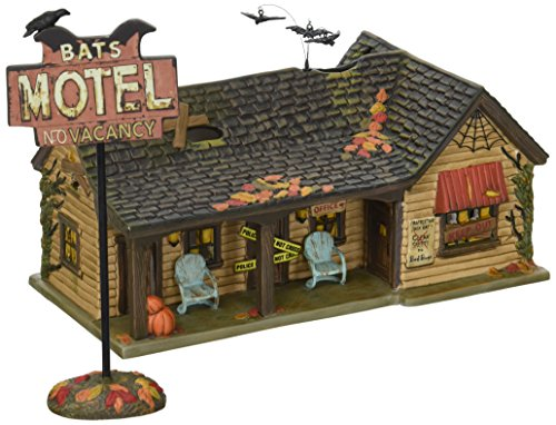 Department 56 Village Halloween Bat s Motel Lit House