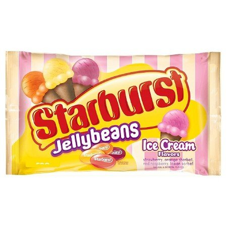 Starburst Ice Cream Flavor Jelly Beans, 13 Oz. (Pack of 4)