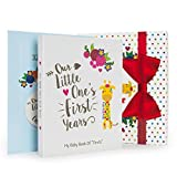 Baby Shower Gift for Boys & Girls: One Baby Memory Book + 12 Monthly...