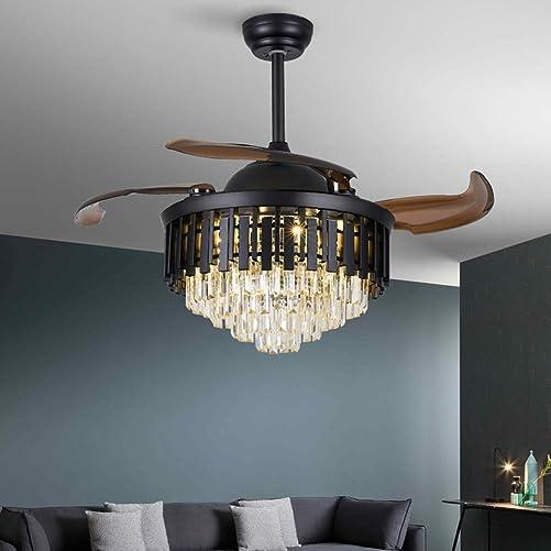 Healer 42 Inch Retractable Ceiling Fan
