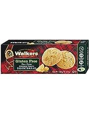Walkers Gluten Free Ginger and Lemon Shortbread, 140g