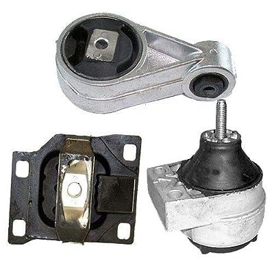 K0170 Fits 2000-2004 FORD FOCUS 2.0L DOHC Engine & Trans Mount Set Except SVT Model 3 PCS : A3003, A2939, A2986: Automotive