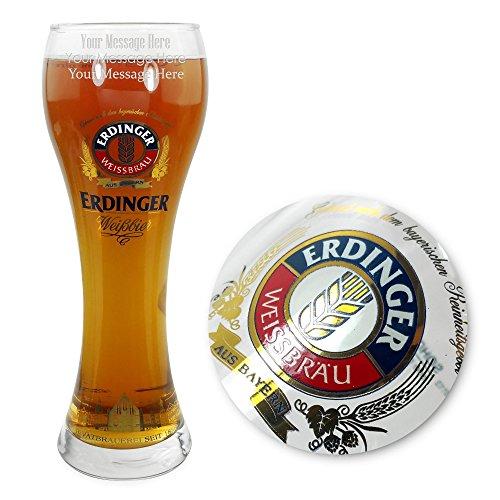 TUFF LUV Personalised/Engraved Glasses/Barware CE 500ml for Erdinger Pint