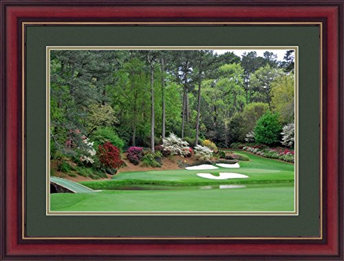 12th Hole Augusta National - Gatsbe Exchange 12th Hole Augusta Framed Wall Art Photography