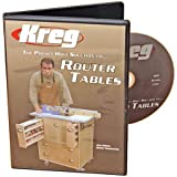 Kreg V06-DVD-Pocket Hole Joinery DVD, Building a Router Table by Kreg